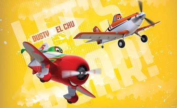 Carta da parati Disney Planes