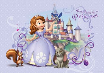 Carta da parati Disney Sofia La Principessa