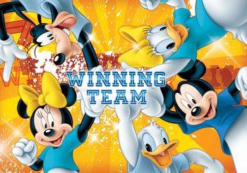 Carta da parati Disney Topolino - Mickey Mouse