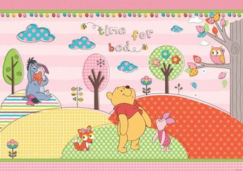 Carta da parati Disney Winnie Pooh