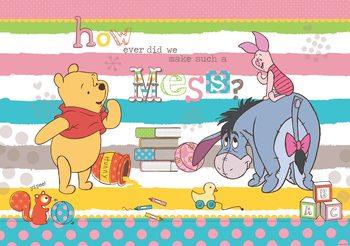 Carta da parati Disney Winnie Pooh Ih-Oh Pimpi