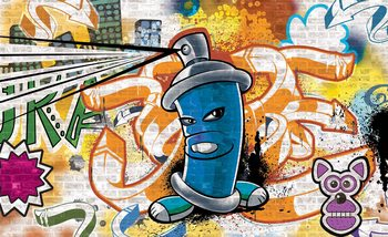 Carta da parati Graffiti Street Art