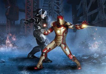 Carta da parati Iron Man Marvel Avengers