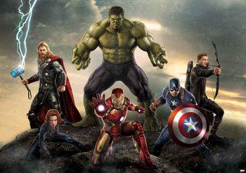 Carta da parati Marvel Avengers Battle