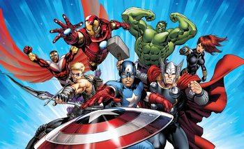Carta da parati Marvel Avengers