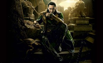 Carta da parati Marvel Avengers Loki