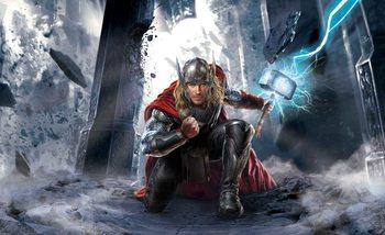 Carta da parati Marvel Avengers Thor