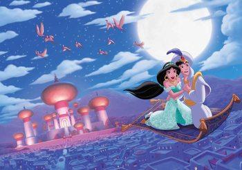 Carta da parati Principesse Disney Jasmine Aladdin