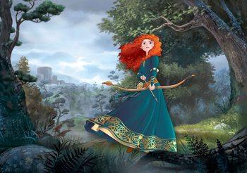 Carta da parati Principesse Disney Merida Brave