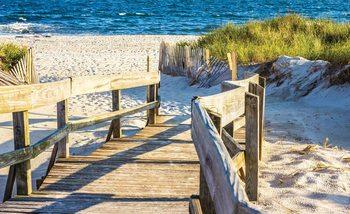 Carta da parati Spiaggia Vista Tropicale