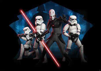 Carta da parati Star Wars Rebels Inquisitore Sith