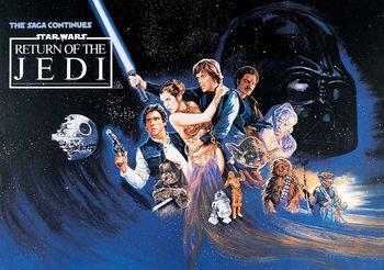 Carta da parati Star Wars Return Of The Jedi