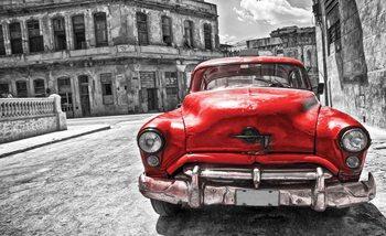 Carta da parati Vintage Car