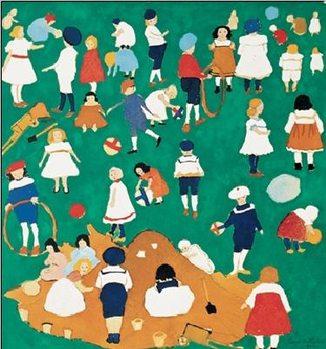 Children Festmény reprodukció