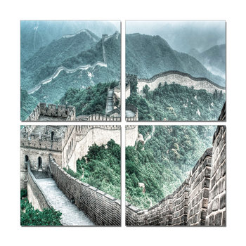 China - Great Wall of China Modern tavla
