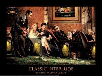 Classic Interlude - Chris Consani Festmény reprodukció
