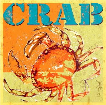 Crab Festmény reprodukció