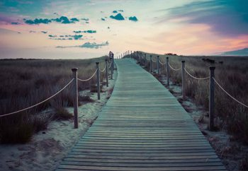 Cuadro en vidrio  The Path To The A New Day