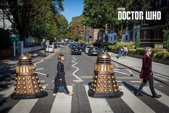 Doctor Who - Abbey Road - плакат (poster)