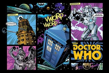 Doctor Who - Comic Layout - плакат (poster)