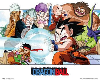 Dragon Ball - Landscape - плакат (poster)