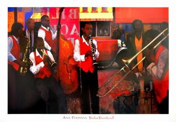 Dukes Dixieland Festmény reprodukció