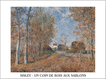 Edge of the Forest in Sablons Reproduction d'art