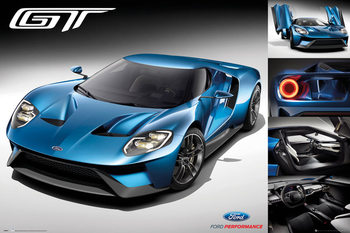Ford - GT 2016 - плакат (poster)