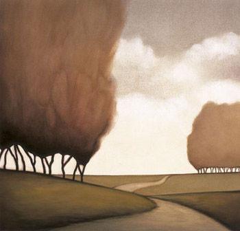 Forest Road II Festmény reprodukció
