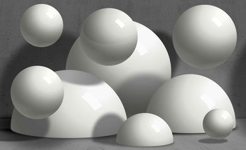 Abstract Monochrome Modern Design Fotobehang