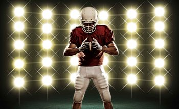 American Football Fotobehang