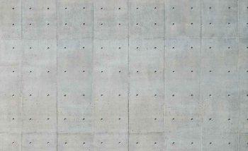 Cement Wal Holes Fotobehang