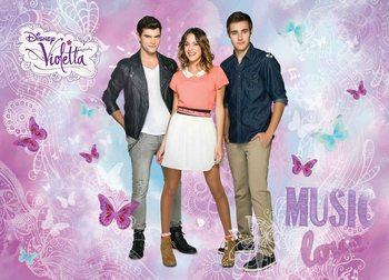 Disney Violetta Fotobehang