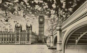 Houses of Parliament City Fotobehang