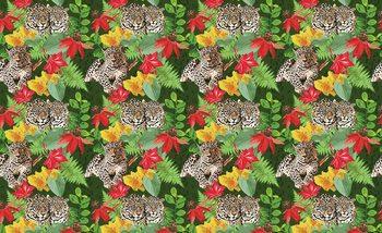 Jungle Cheetah Fotobehang
