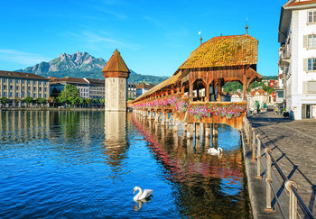 Lucerne – Switzerland Fotobehang