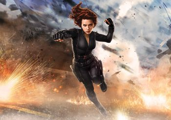 Marvel Avengers Black Widow Fotobehang