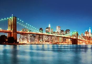NEW YORK EAST RIVER  Fotobehang