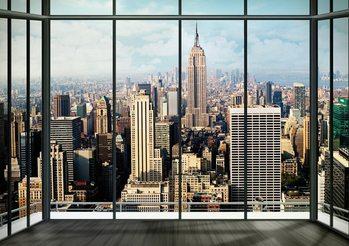 New York - Manhattan Skyline Fotobehang