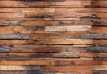 Wooden Wall Fotobehang