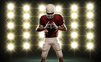 Fotomurale American Football