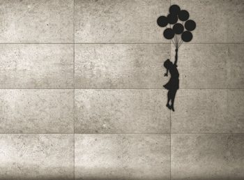 Fotomurale Banksy - Balloon Girl