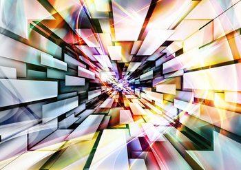 Fotomurale Muticolour abstracto del modelo