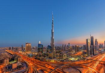 Burj Khalifa Vinyl väggmålningar