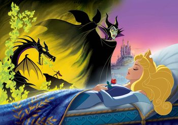 Disney Princesses Sleeping Beauty Fototapet