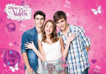 Disney Violetta Fototapet