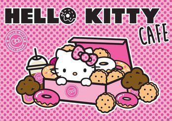 Hello Kitty Fototapet