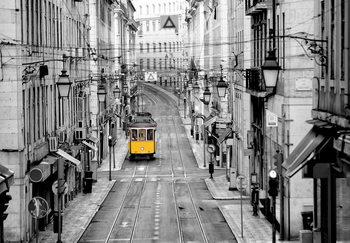 Lissabon Vinyl väggmålningar
