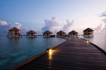 Maldiverna - dröm Fototapet