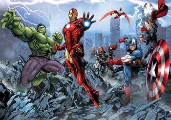 Marvel Avengers Fototapet